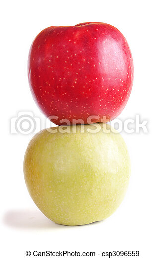 Two apples - csp3096559