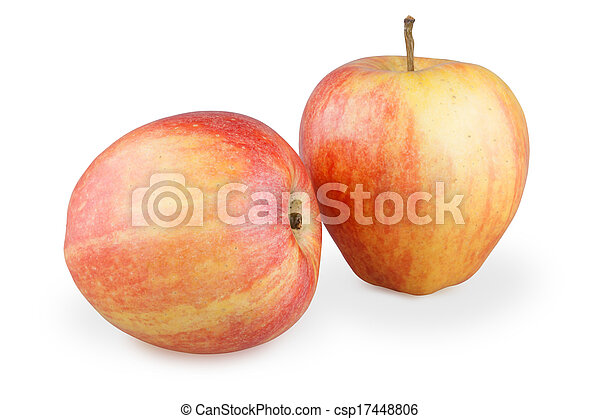 two apples - csp17448806