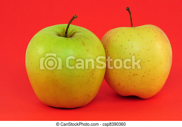 two apples - csp8390360