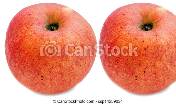 two apples - csp14259034