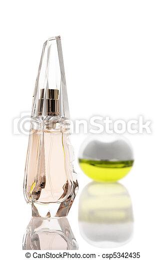 Two bottles of perfume - csp5342435