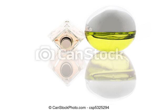 Two bottles of perfume - csp5325294
