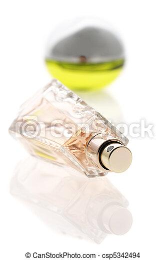 Two bottles of perfume - csp5342494