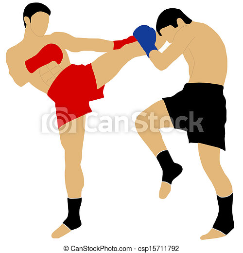 two boxers fighting with high kick eps vectors search clip art rh canstockphoto com boxing clipart png boxing clipart free download