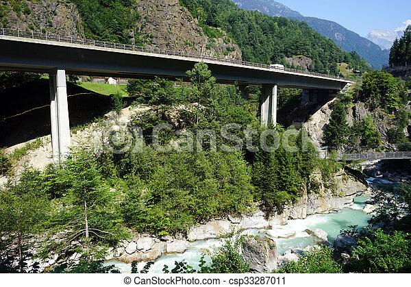 Two bridges - csp33287011
