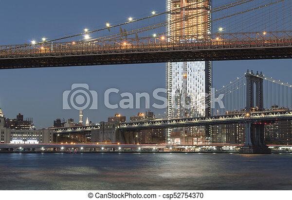 Two bridges. - csp52754370