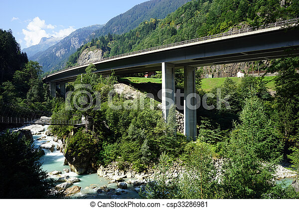 Two bridges - csp33286981