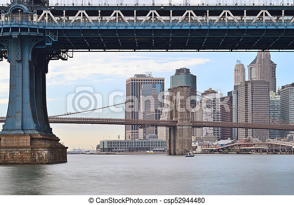 Two bridges. - csp52944480