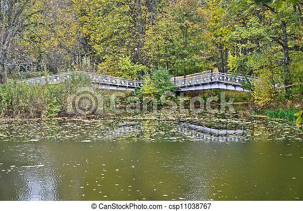 two bridges - csp11038767