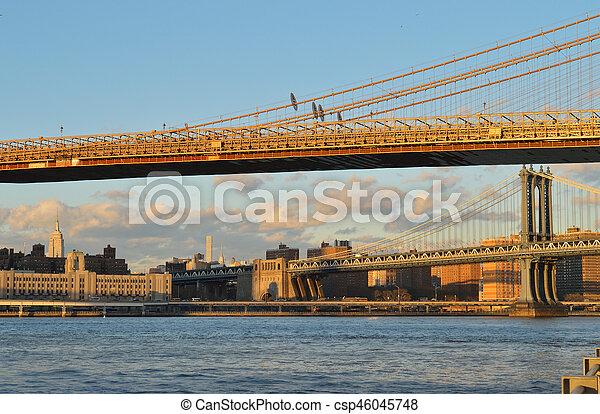 Two bridges. - csp46045748