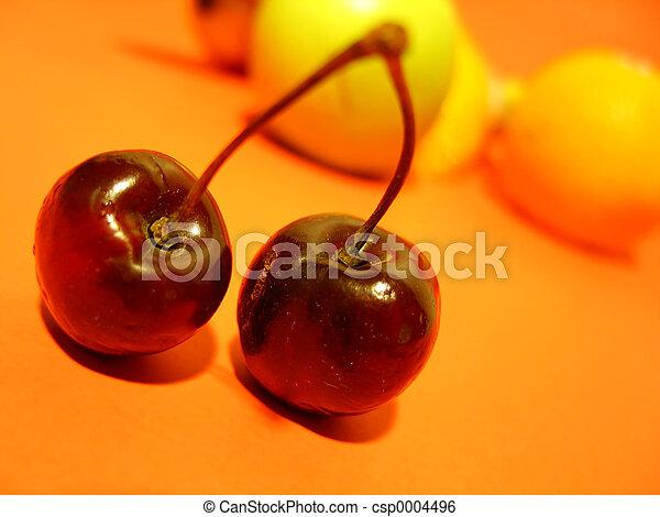 Two Cherries - csp0004496
