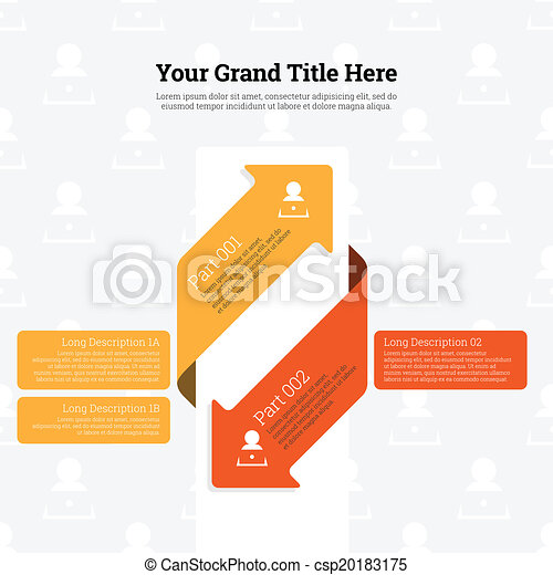 infographic arrow