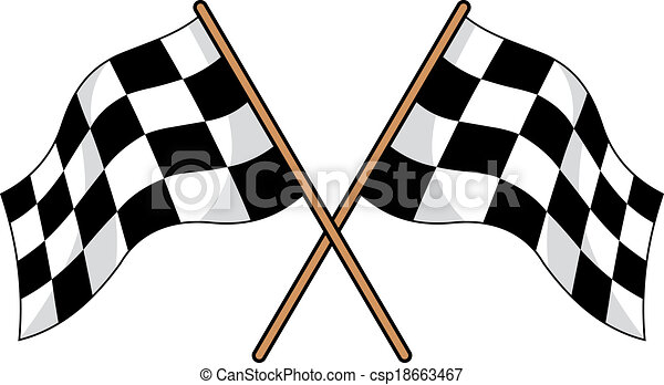 two crossed black and white checkered flags used in motor clip rh canstockphoto com sg checkered flag clip art free checkered flag clip art free