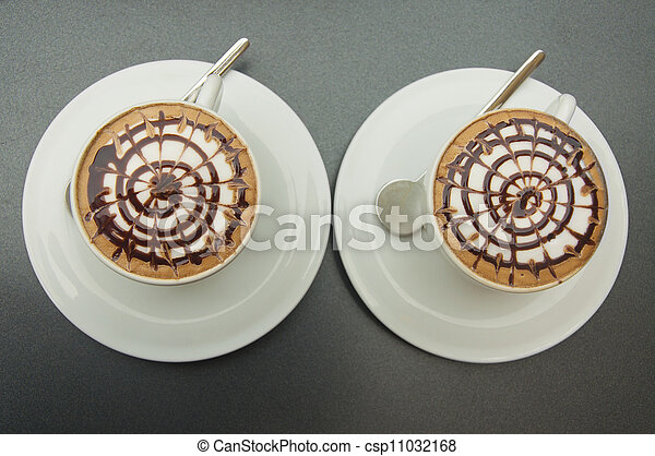 Two cups of coffee - csp11032168