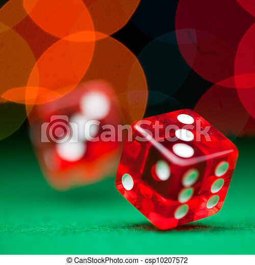 Two dice - csp10207572