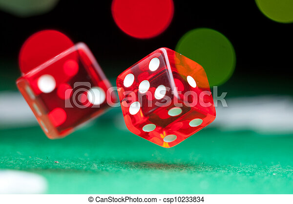 Two dice - csp10233834