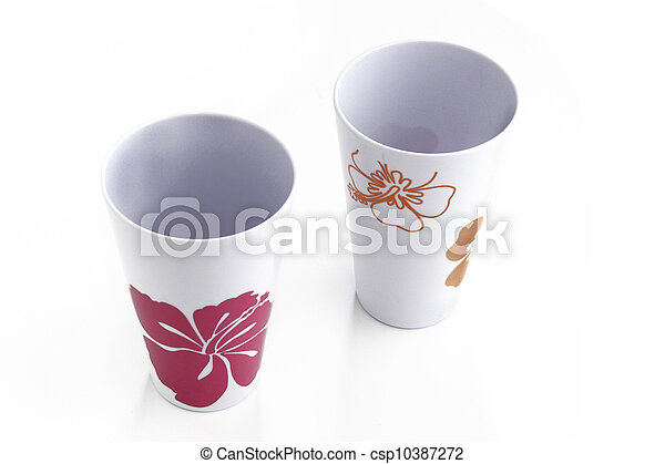 Two empty mugs - csp10387272