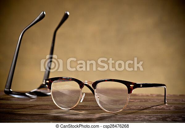 two eyeglasses - csp28476268