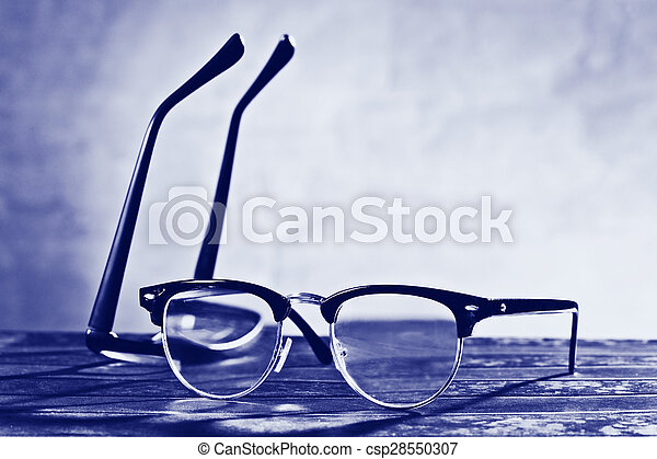 two eyeglasses - csp28550307