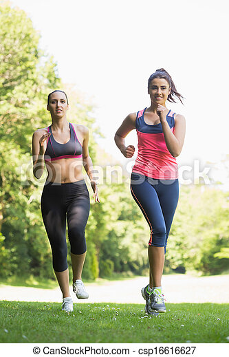 Two Fit Brunette Women Jogging Towards Camera In A Forest Canstock Find the perfect women jogging stock photos and editorial news pictures from getty images. https www canstockphoto com two fit brunette women jogging 16616627 html