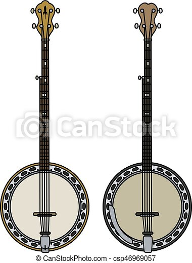 Two five string banjo - csp46969057