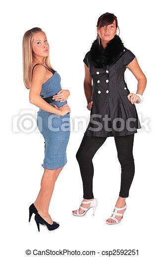 Two Girls Posing 2