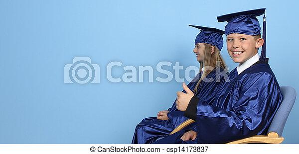Two graduates - csp14173837