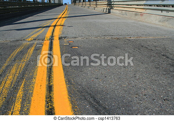 Two Lane Road - csp1413763