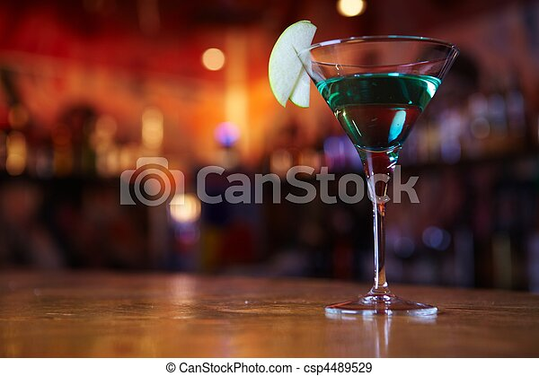 Two-layer cocktail - csp4489529
