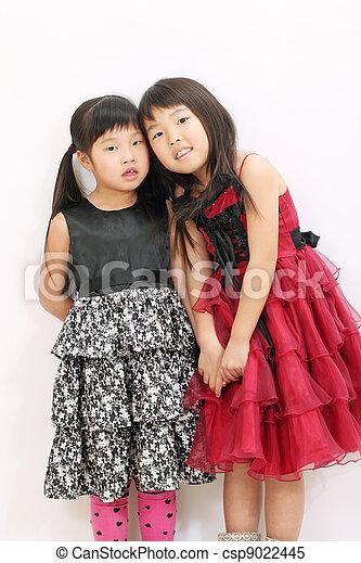 girls Two asian