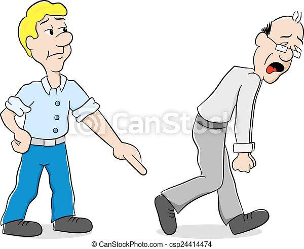 Two Men Clipart