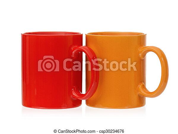Two mugs - csp30234676