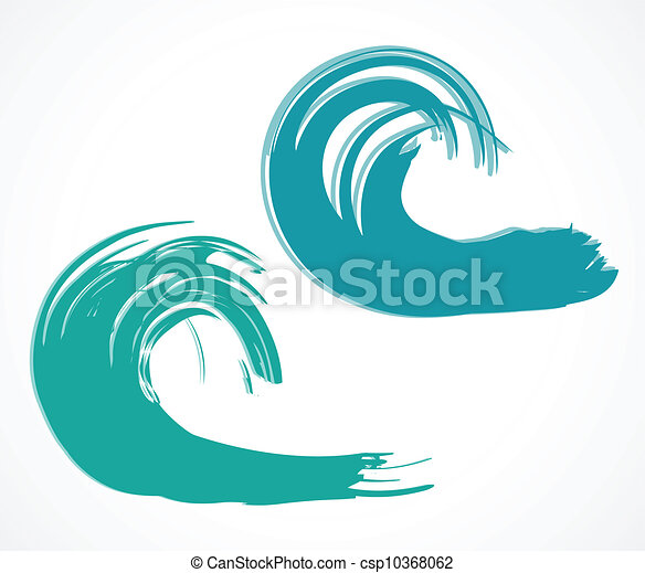 two of wave vector illustration set of wave vector clip art rh canstockphoto com wave vector free wave vector free