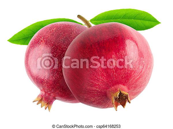 Two pomegranates - csp64168253