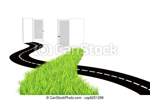 Two road