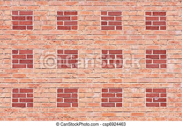 Two Shades of Brick Wall - csp6924463