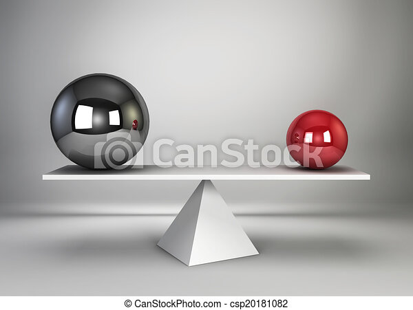 Two spheres in balance - csp20181082