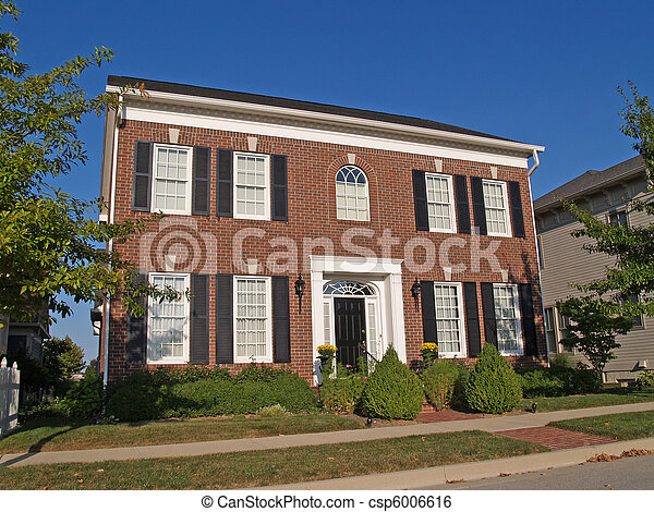 Two Story New Home - csp6006616