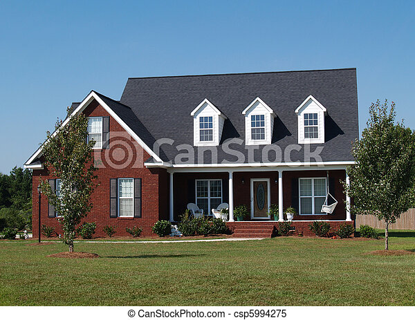 Two Story Residential Home - csp5994275