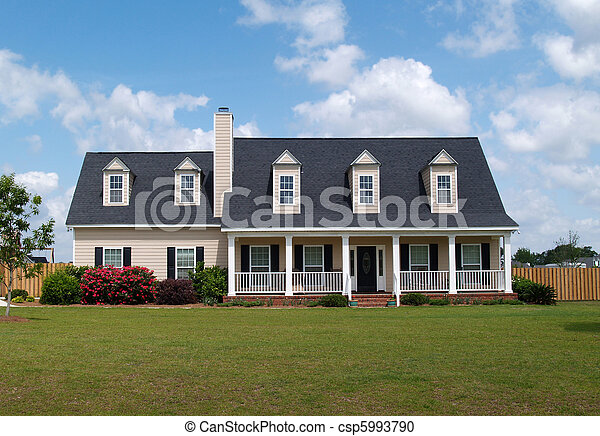 Two Story Residential Home - csp5993790