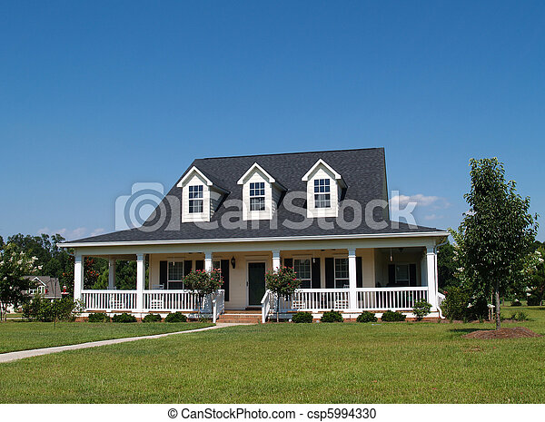 Two Story Residential Home - csp5994330