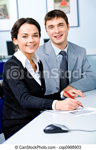Two students - csp0998903