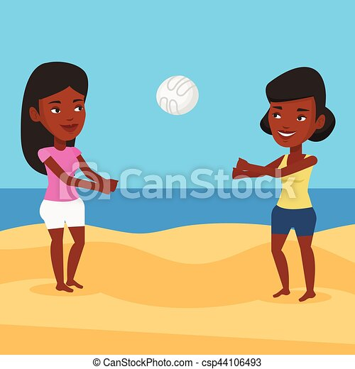 Clip Art Image of an African American Woman Having Fun at a Party