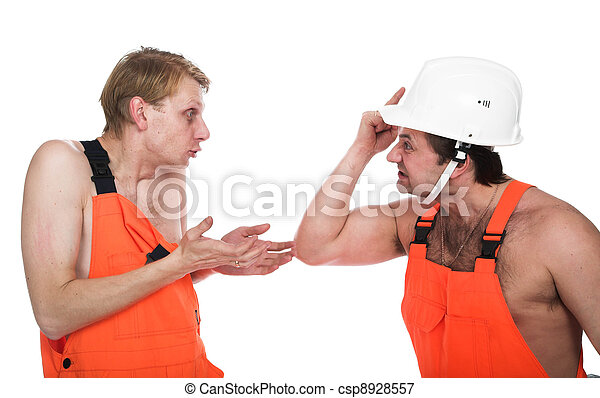 Two workers  - csp8928557