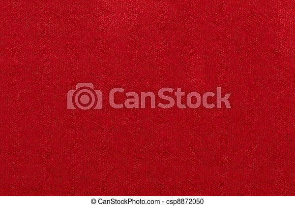 tyg, bakgrund, röd - csp8872050