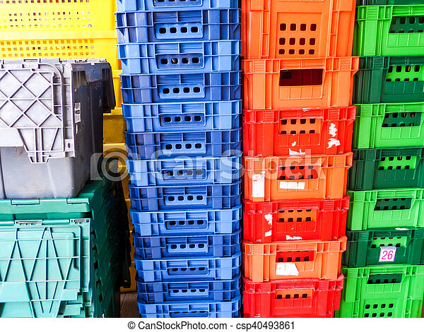 type of crate plastic box use to packaging - csp40493861