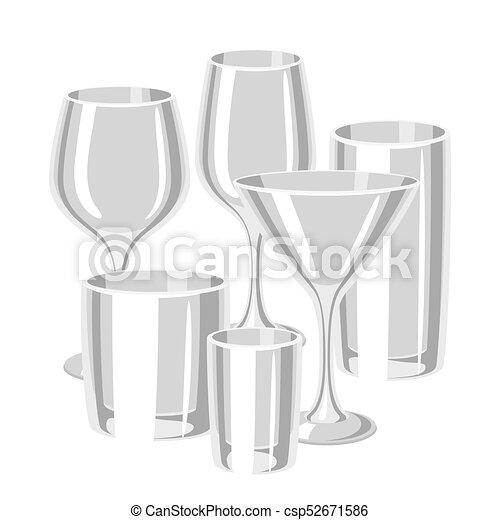 types of bar glasses set of alcohol glassware. Black Bedroom Furniture Sets. Home Design Ideas