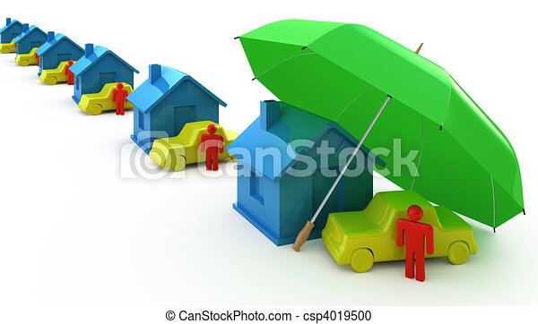 Types of Insurance - csp4019500