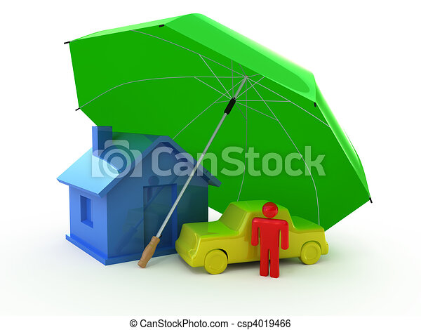 Types of Insurance - csp4019466