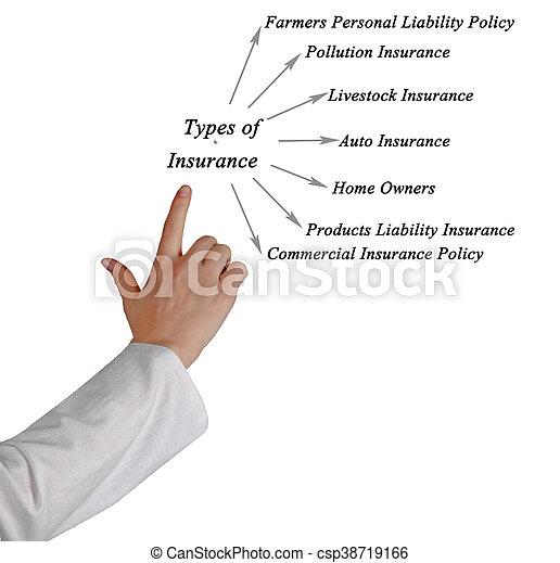 Types of Insurance - csp38719166